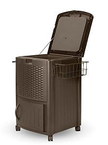 Suncast DCCW3000 Resin Wicker Cooler by Suncast Corporation