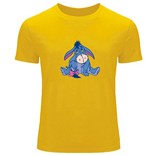 Eeyore Cartoon Printed Logo For Boys Girls T-shirt Tee Outlet