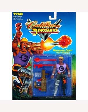 Cadillacs and Dinosaurs Mustapha Cairo Chief Engineer Action Figure - 1