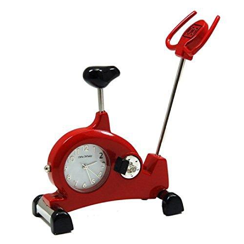 Orologio Quarzo Miniatura - Bici da Camera Rossa