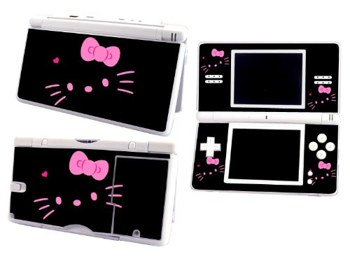 Bundle Monster Nintendo Ndsl Dsl Nds Ds Lite Vinyl Game Skin Case Art Decal Cover Sticker Protector Accessories - Pink Kitty Cat