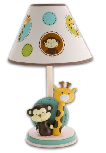 Nojo Jungle Tales Lamp And Shade front-1015571