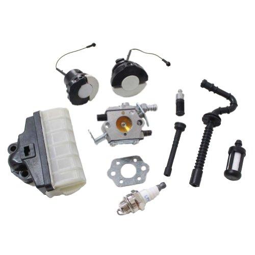 New Pack of Carburetor Air Filter Fuel Oil Cap Oil Hose Tube fit for Stihl Ms210 Ms230 Ms250 021 023 025 (Stihl 021 Carburetor compare prices)