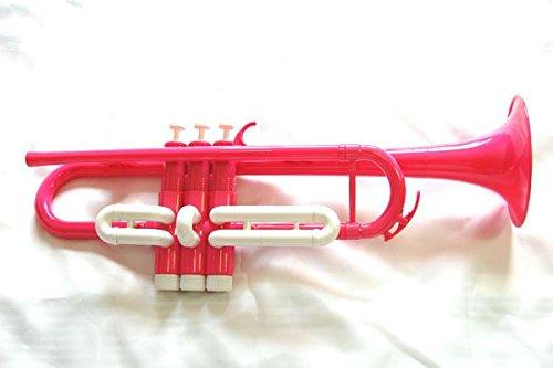 プラスチック トランペット ボディピンク×トリム白 [並行輸入品]