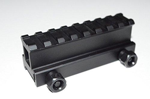 """acidtacticalacid tactique 2,5cm Transparent """"Riser Rail Supérieur haute portée Support-Longueur courte Hi-Profile"""