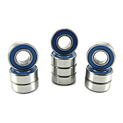Traxxas 5116 5x11x4mm Replacement Precision Ball Bearings MR115-2RSBU 10