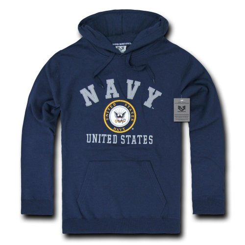 Rapiddominance US Navy Pullover Hoodie, X-Large (United States Navy Sweatshirt compare prices)