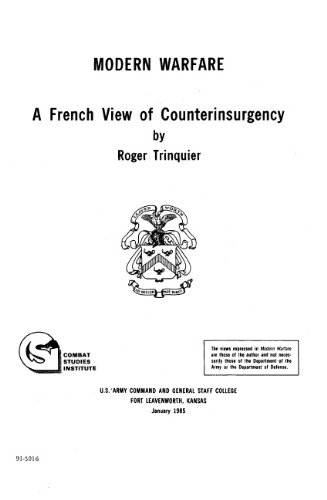 roger trinquier modern warfare