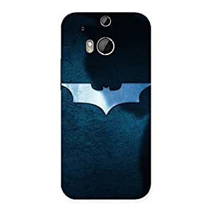 Ajay Enterprises Bluehs Knights Back Case Cover for HTC One M8