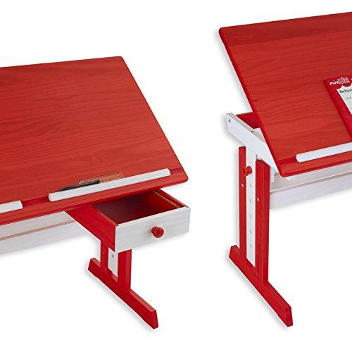 kinderschreibtisch sch lerschreibtisch flexi h hen und. Black Bedroom Furniture Sets. Home Design Ideas