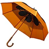 GustBuster Classic 48-Inch Automatic Golf Umbrella (Tiger Lily)