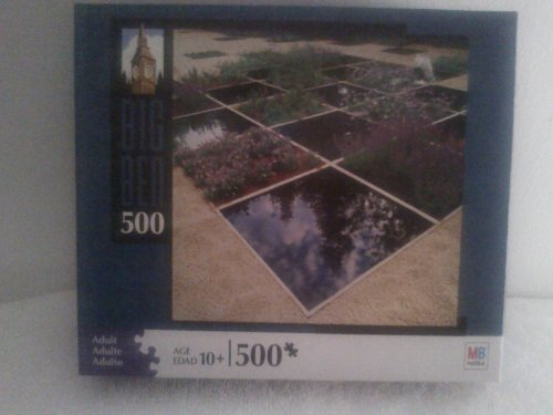 Big Ben 500 Piece Puzzle Meitis Interbational Garden Festival Quebec Canada