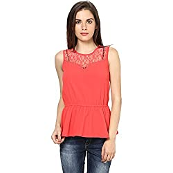 Harpa Women's Top (GR2276_Coral_M)