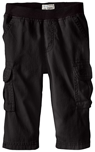 The Children's Place Little Boys and Toddler Pull-On Cargo Pant, Black, 4T (4t Boys Pants compare prices)