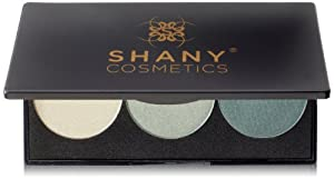 SHANY Cosmetics Everyday Travel Trio Eyeshadow Palette, Olive Champagne, 4 Ounce
