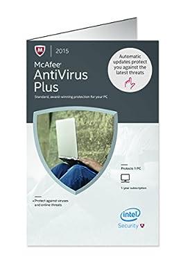 McAfee 2015 Antivirus Plus 1 PC