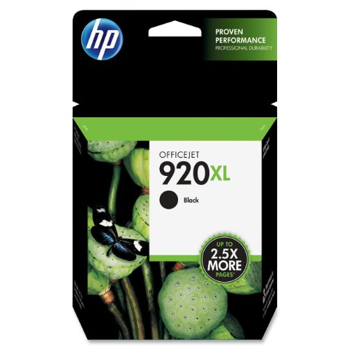 Hp Cd975An 920Xl - - Print Cartridge - 1 X Black - 1200 Pages - For Officejet 6000, 6500, 6500 E709A, 6500A, 6500A E710A, 7000, 7500A