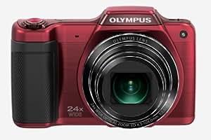 Olympus Stylus SZ-15 Appareil photo numérique 16 Mpix Zoom optique 24x Rouge
