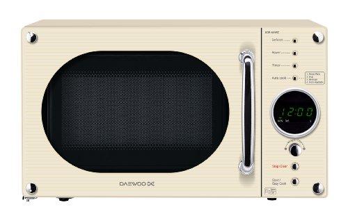 Daewoo KOR6N9RC Digital Microwave 20 Litre, 800 Watt, Cream