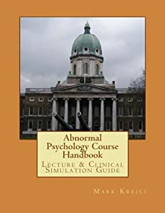 Abnormal Psychology Course Handbook