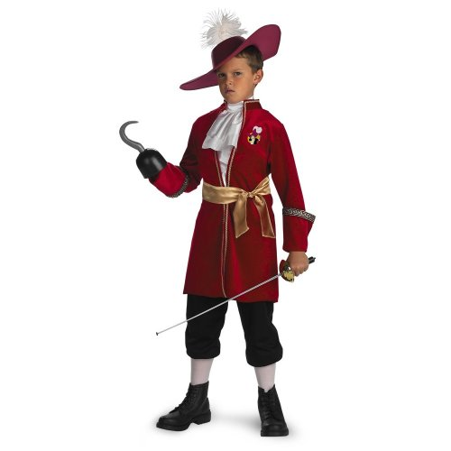 Captain Hook - Size: Child S(4-6) (Peter Pan Toddler Costume compare prices)