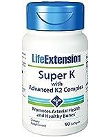 Life Extension Super K with advanced K2 Complex (90 Softgels)