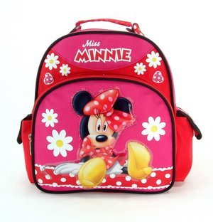 Mini Backpack - Disney - Miss Minnie w/ Red Flower