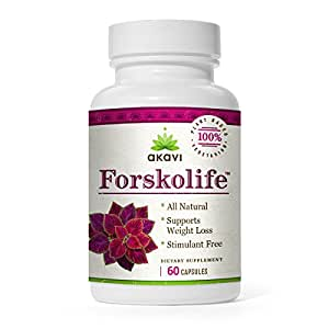 *One Day Sale* Pure Forskolin Extract For Weight Loss by Forskolife (tm) - As Low As $15.59/bottle - As Seen on TV - 100% Money-Back Guarantee - 20% Standardized Purity - Suppresses Appetite, Blocks Fat, No Side Effects - Full 30 Day Supply