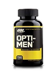 Optimum Nutrition Opti-Men Supplement, 150 Count