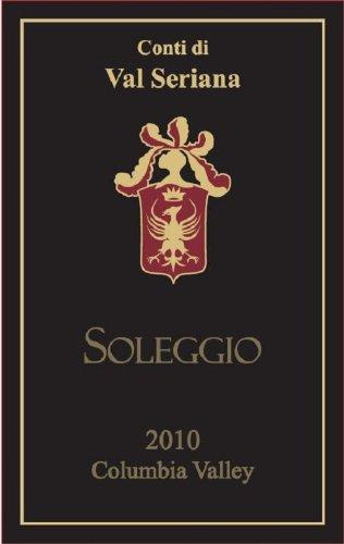 """2010 Apolloni """"Conti Di Val Seriana Soleggio"""" Super Tuscan Style Red Blend 750 Ml"""