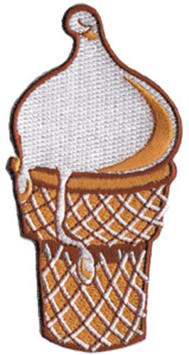 Application Ice Cream Cone Patch
