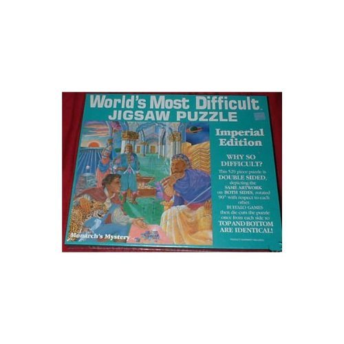 World's Most Difficult Jigsaw Puzzle - Imperial Edition - Monarch's Mystery - 1