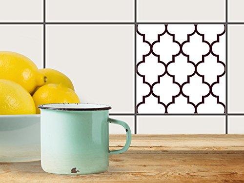 fliesensticker dekoraufkleber fliesen aufkleber folie sticker selbstklebend k che renovieren. Black Bedroom Furniture Sets. Home Design Ideas