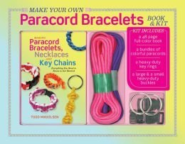 Make Your Own Paracord Bracelets Books & Kit by Todd Mikkelsen (Make Your Own Paracord Bracelet compare prices)