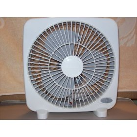 Massey Personal 9 Inch Box Fan (White)