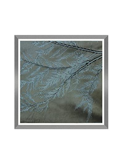 Aviva Stanoff Forest Hand-Pressed on Forest Green Velvet Artwork