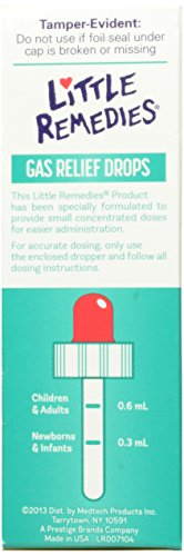Little Remedies 儿童肠胃胀气果味滴剂 30ml图片