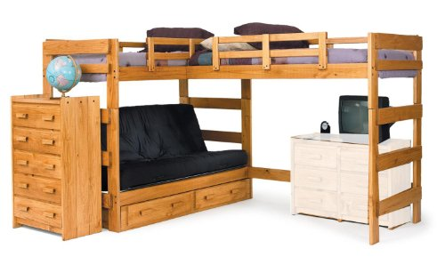 Futon Bunk Beds 3344 front