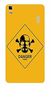 Back Cover for Lenovo A7000 Breaking Bad Danger