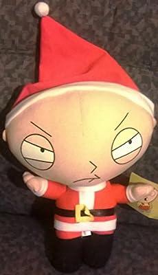 10 Inch Stewie Santa Plush from Nanco