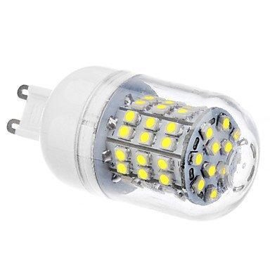 G9 3.5W 60Xsmd3528 300-320Lm 6000-6500K Natural White Light Led Corn Bulb (110/220V)