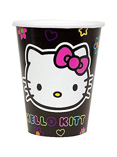 Hello Kitty 'Neon Tween' Paper Cups (8ct)