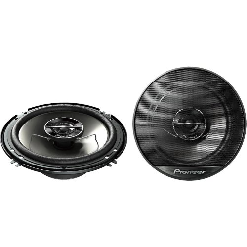 "Pioneer Ts Series 6.5"" 500 Watt Peak / 80 Watt Rms 2-Way 4 Ohm Coaxial Car Stereo Speakers With 1-3/16"" Pei Balanced Dome Tweeter"