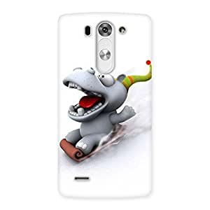 Ajay Enterprises ice scating cartoon Back Case Cover for LG G3 Beat