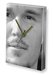 RYAN KWANTEN - Canvas Clock (LARGE A3 - Signed by the Artist) #js001