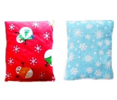 **Buy One Get One 1/2 Price** Boo Boo Buddy / Microwaveable And Freezer Ready Handybag Mini **Snowman & Blue Snowflake**