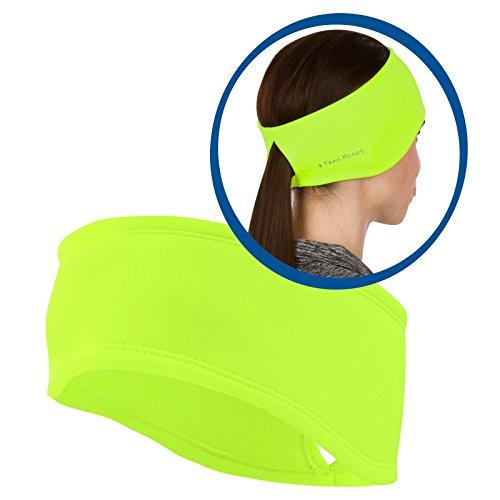 TrailHeads Women's Power Ponytail Headband - hi-vis (Warm Weather Running Gear compare prices)