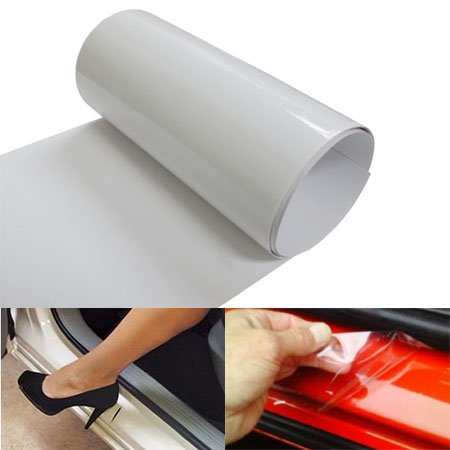 6 by 60 Inches Clear Door Sill Paint Protection Scratch Film Vinyl Sheet (Car Door Clear compare prices)