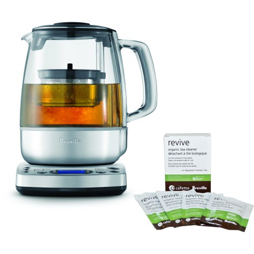 Breville BTM800XL Programmable One-Touch Tea Maker with Free Revive Organic Tea Cleaner (Tea Maker One Touch compare prices)
