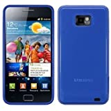 Samsung i9100 Galaxy S 2 Blue Gel Skin Case Cover By Modern-Tech